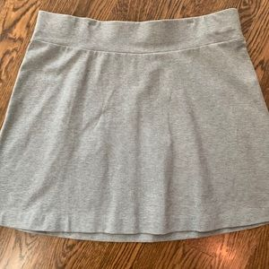 J. Jill Heather gray A line skirt. ⭐️NWT⭐️. XL.